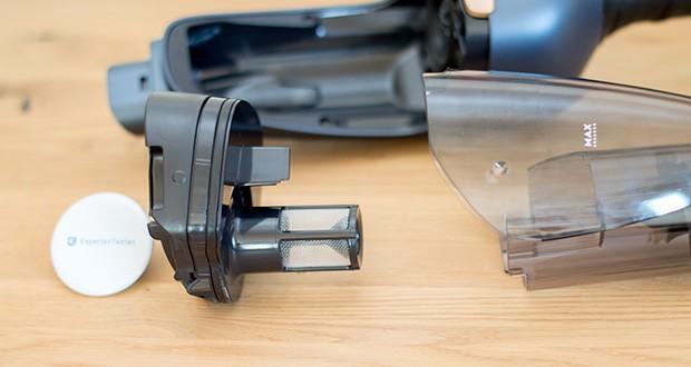 AEG QX9-1-50IB 2in1 Akku-Staubsauger im Test - 5-Stufen-Filtration