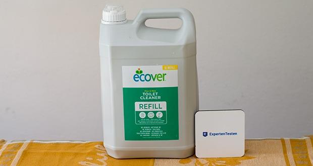 Ecover Ökologischer WC-Reiniger Tannenduft im Test - minimale Beeinträchtigung des Wasserlebens (WGK 1)