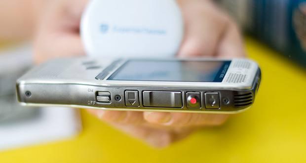 Philips DPM6000 Digitales Diktiergerät im Test - das ergonomische, schlanke und leichte Design sorgt für maximalen Komfort, selbst beim Arbeiten über längere Zeiträume