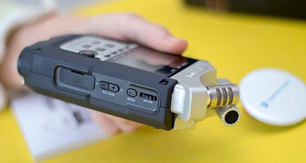 Zoom H4nPro Digital Multitrack Recorder im Test - neue, extrem rauscharme Mikrofonvorverstärker mit weniger als -120 dBu EIN