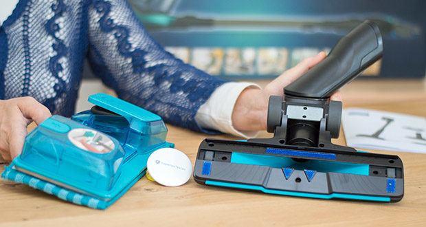 Philips XC8147/01 SpeedPro Max Aqua Staubsauger mit Wischfunktion im Test - Reinigungsmittel hinzufügen und bis zu 99 Prozent der Bakterien entfernen