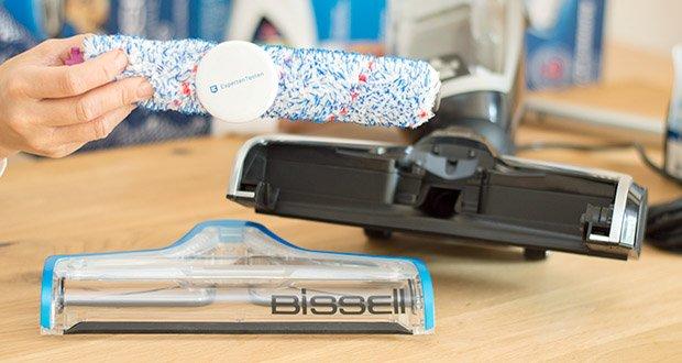 BISSELL 2225N Crosswave Pet Pro 3-in-1 Bodenreiniger im Test - wird mit einer Multiflächen-Bürstenrolle geliefert, die nach einigen Monaten ausgetauscht werden sollte, vor allem bei intensiver Nutzung