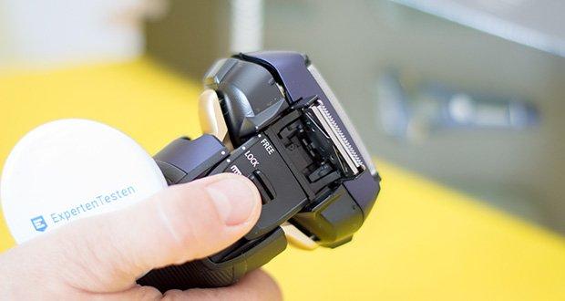 Panasonic ES-LV67-A803 Nass/Trocken-Rasierer im Test - inklusive Langhaarschneider