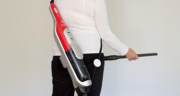 Bosch BCH6ZOOO Athlet Akku Staubsauger im Test - maximal flexibel: kabelloses Staubsaugen ohne Grenzen auch auf Polstern und in Ecken dank ansteckbarem Zubehörkit