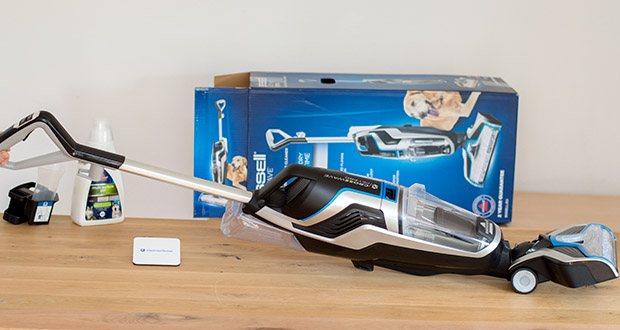 BISSELL 2225N Crosswave Pet Pro 3-in-1 Bodenreiniger im Test - in jedem Reinigungsschritt saugen und wischen Sie Ihre Böden zugleich - mit nur einem Gerät
