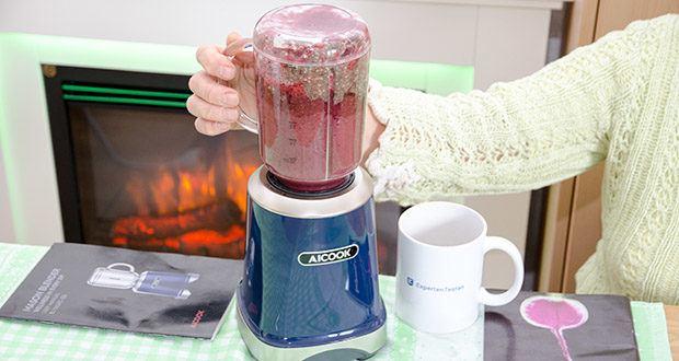 AICOOK Smoothie Maker im Test - ein Muss-Mixer für Gesunde Ernährung