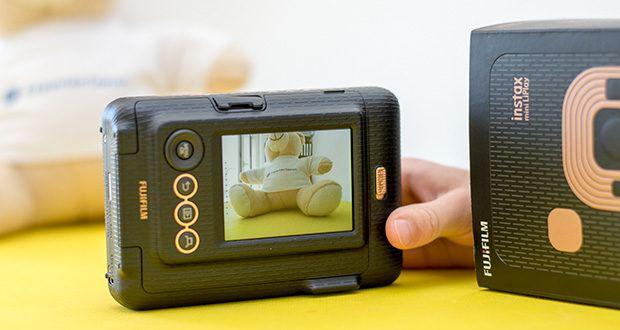 Fujifilm Instax Mini LiPlay Elegant Hybride Sofortbildkamera im Test - erste instax mini hybrid Sofortbildkamera