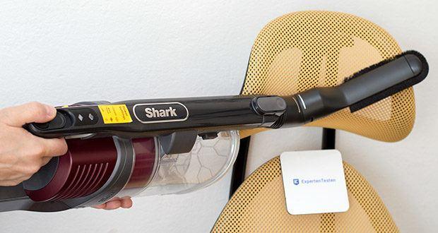 Shark Anti Hair Wrap IZ251EUT Staubsauger im Test - verwandeln Sie das Gerät per Knopfdruck in einen kabellosen Handstaubsauger