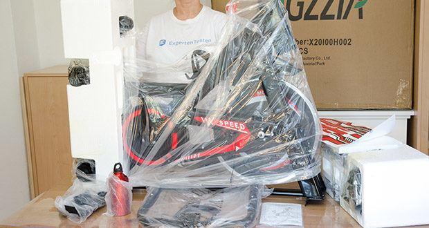 Bigzzia Profi-Heimtrainer mit LCD-Anzeige im Test - Größe: 104,14 x 22,86 x 78,74 cm
