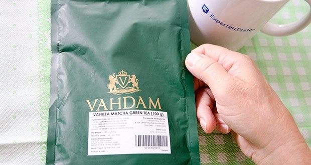 VAHDAM Vanille Matcha Grüntee Pulver im Test - 100% REINER japanischer Herkunfts-Matcha-Teepulver