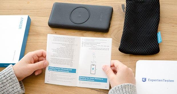 Anker PowerCore III 10K Wireless Powerbank 10000mAh im Test - MultiProtect Sicherheitssystem mit smarter Temperaturregulierung, Fremdkörpererkennung und Kurzschlussschutz garantiert uneingeschränkte Sicherheit für dich und deine Geräte