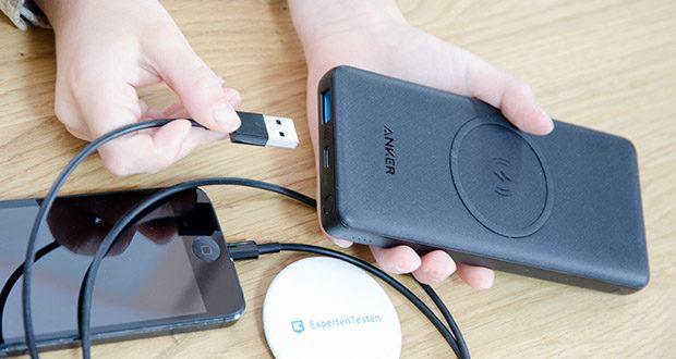 Anker PowerCore III 10K Wireless Powerbank 10000mAh im Test - Qi-zertifiziert und ausgestattet mit mehr als genug Saft, um Smartphones, Kopfhörer, Ladehüllen und mehr mit bis zu 10W Leistung aufzuladen