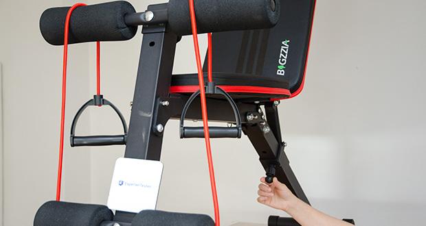 Bigzzia verstellbare Hantelbank im Test - verwendet hochwertige Materialien, um sich im Wettbewerb der Trainingsgeräte hervorzuheben