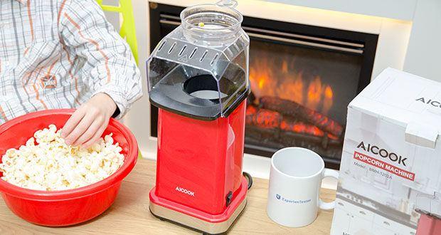 Aicook Popcornmaschine 1400W im Test - Popcorn in weniger als 2 Minuten