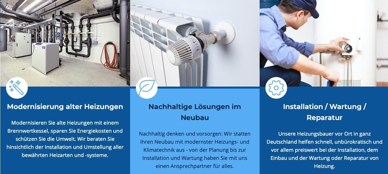 Screenshot von heizungsbetrieb24.de