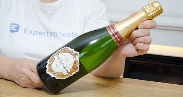 Alfred Gratien Brut Classique Champagner im Test - ein außergewöhnlicher Champagner, der ausschließlich aus Premiers Crus- und Grands Crus-Lagen hergestellt wird und Eleganz und Einzigartigkeit entfaltet