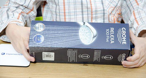 GROHE Relexa 100 Handbrause im Test - Wellness-Dusche mit Grohe DreamSpray Technologie