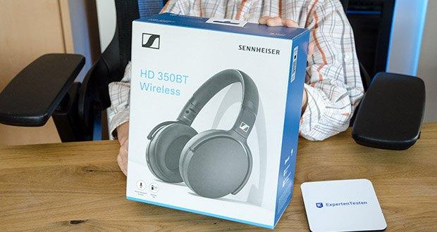 Sennheiser HD 350BT Kabelloser faltbarer Kopfhörer im Test - ist aus langlebigen, hochwertigen Materialien hergestellt, so dass er überallhin mitgenommen werden kann