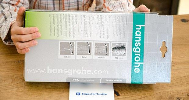 hansgrohe Raindance Select E 120 Duschkopf im Test - Herstellergarantie: 5 Jahre