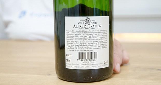 Alfred Gratien Brut Classique Champagner im Test - Rebsorten: Chardonnay, Pinot Noir, Pinot Meunier