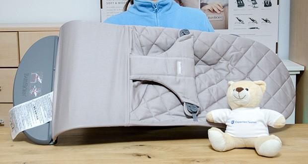 BabyBjörn Babywippe Bliss Sandgrau im Test - Materialart: Baumwolle