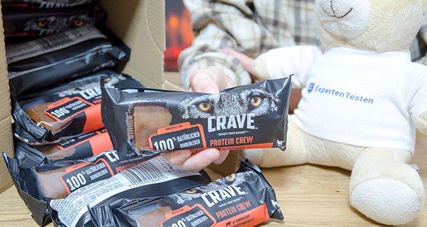 CRAVE Protein Chew für mittelgroße Hunde mit Rind im Test - mit vielen tierischen Proteinen und purem Geschmack respektiert es die wahre Natur des Hundes