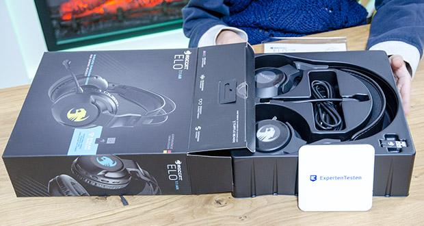 Roccat Elo 7.1 Air Gaming Headset im Test - kombiniert die neueste Drahtlostechnologie mit einer schwerelosen Passform