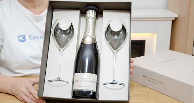 Louis Roederer Champagne Brut Premier im Test - als Aperitif, zu Carpaccio vom Rind mit weißem Trüffel, gebratenem Steinbutt, Jakobsmuscheln, mildem Ziegenkäse sowie cremigen Käsesorten