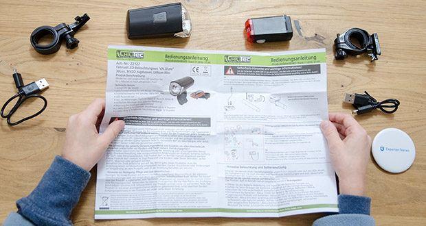 Chilitec Fahrrad LED-Beleuchtungsset CFL 30 pro im Test - entspricht der StVZO