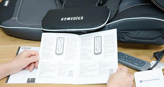 HoMedics Shiatsu MAX 2.0 Rücken- und Schultermassagegerät im Test - 14 Massageprogramme inklusive Shiatsu- Spot- und Rollenmassage für eine vollständige Rückenmassage