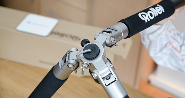 Rollei C5i Fotostativ aus Aluminium im Test - ist ein echter Alleskönner ob als Dreibein-Stativ, als Monopod, als Mini-Stativ oder als Macro-Stativ das Kamera-Stativ macht immer eine gute Figur