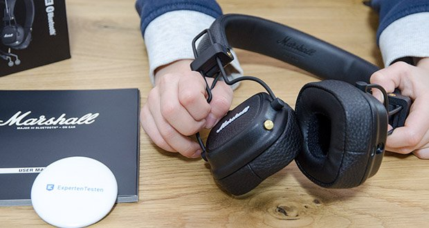 Marshall Major III Bluetooth Faltbar Kopfhörer im Test - Bluetooth aptX gibt Ihnen die Freiheit und den Komfort eines kabellosen Kopfhörers