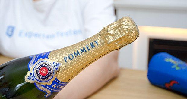 Pommery Brut Royal Champagner im Test - Servierempfehlung: 8-12 Grad