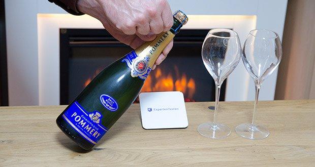Pommery Brut Royal Champagner im Test - ideal als Aperitif und zu jeder Gelegenheit