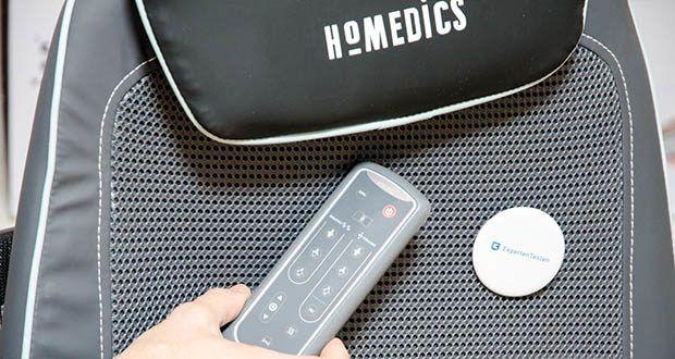 HoMedics Shiatsu MAX 2.0 Rücken- und Schultermassagegerät im Test - inkl. Fernbedienung