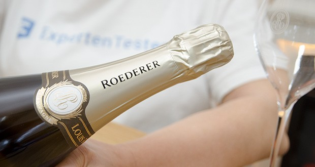 Louis Roederer Champagne Brut Premier im Test - zartwürziger Duft von Pfirsichen, Apfeln, Grapefruit und frisches Brioche