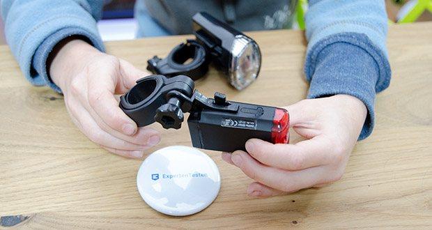 Chilitec Fahrrad LED-Beleuchtungsset CFL 30 pro im Test - einfachste Montage ohne jegliches Werkzeug