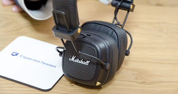 Marshall Major III Bluetooth Faltbar Kopfhörer im Test - verfügt über speziell abgestimmte 40-mm-Treiber, die ein verbessertes Hörerlebnis bieten