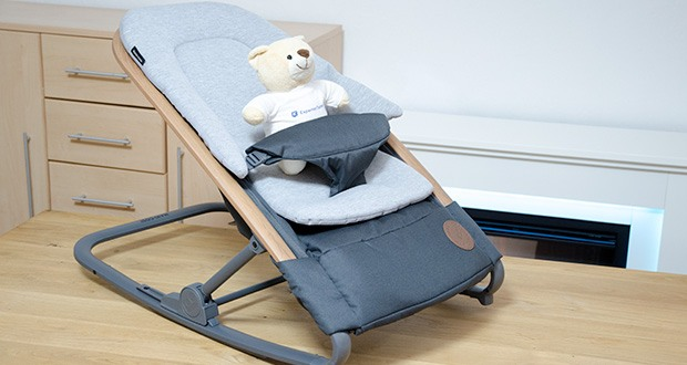 Maxi-Cosi Kori 2-in-1 Babywippe im Test - gemütliche Sitzeinlage für Neugeborene