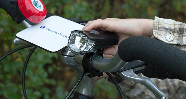 Chilitec Fahrrad LED-Beleuchtungsset CFL 30 pro im Test - Li-Akku Front 3,7V/1050mAh, Leuchtdauer bis zu 6 Stunden