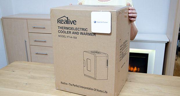Kealive Mini Kühlschrank im Test - 2 Jahre Produktgarantie