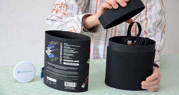 Volutz USB zu Lightning Kabel 5er Pack im Test - Volutz DualHousing Technologie isoliert Biegebewegungen und absorbiert den Druck vom täglichen Verschleiß