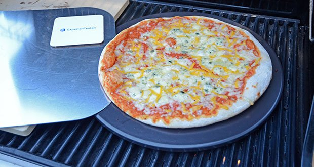 Esprevo Pizzastein Set im Test - wird Deine selbstgemachte Pizza so knusprig wie frisch aus dem Steinofen
