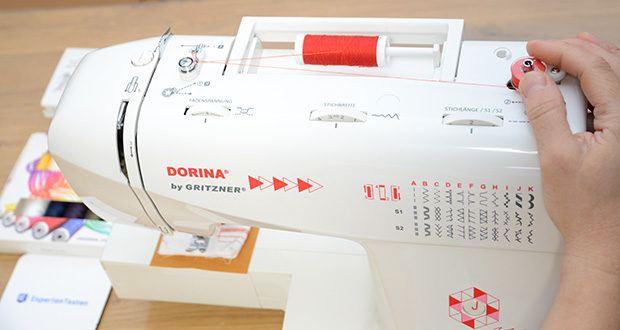 Gritzner Dorina Nähmaschine 333 im Test - 33 Nutz- und Zierstiche