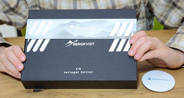 BERGKVIST K10 Zweihandmesser Taschenmesser im Test - handliches Zweihandmesser