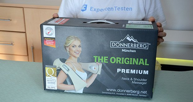 Donnerberg Original Premium NM089 Nackenmassagegerät im Test - 7 Jahre Herstellergarantie