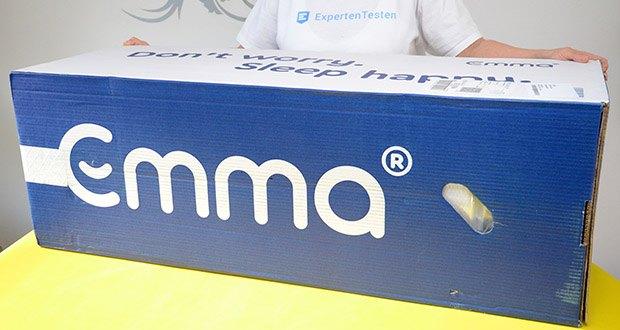 Emma Two Matratze 90x200cm im Test - wird in Deutschland entwickelt