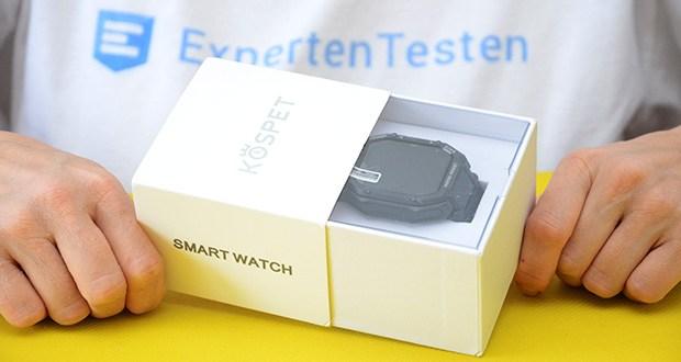 KOSPET Rock Smartwatch im Test - 3ATM Wasserdicht