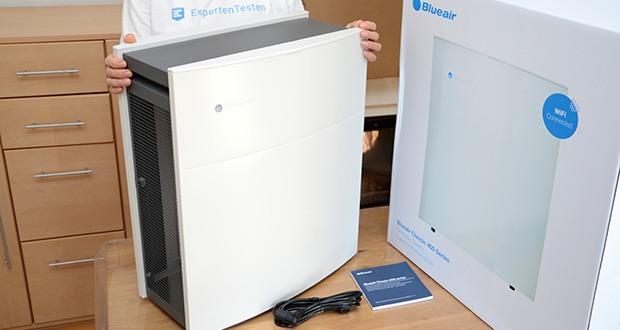 BLUEAIR Luftreiniger Classic 480i im Test - für Zimmer bis 40m², filtert den Raum 5x pro Stunde