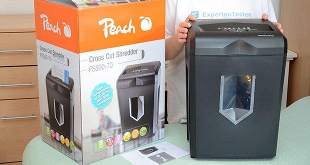Peach Altenvernichter PS500-70 im Test - dank der automatischen Startfunktion, dem Überhitzungsschutz und dem Rückwärtslauf für Staubehebung ist er sehr benutzer
